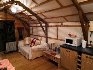 The Sheiling Skye, living area