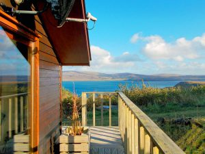 The Sheiling Skye, decking
