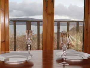 Dining view, The Sheiling Skye