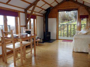 Living area, The Sheiling Skye