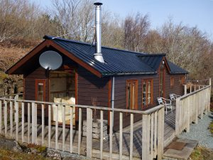The Sheiling Skye, outside and deck