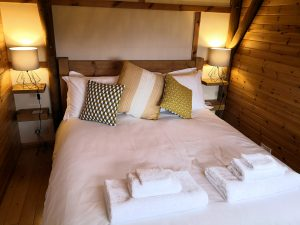 Cosy and snug in your kingsize bed